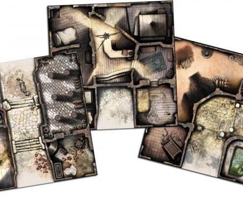 zombicide tiles