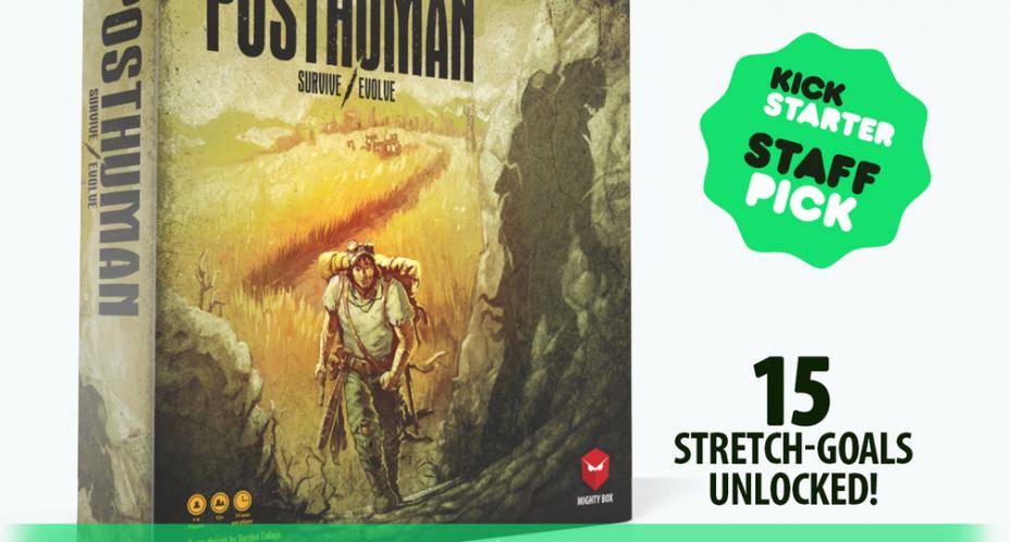 posthuman kickstarter, survival, evolve