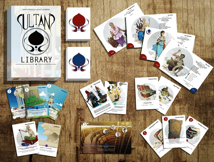 sultans library card game