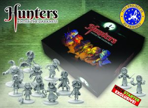 hunter boardgame kickstarter