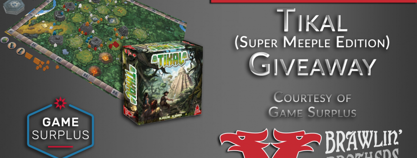 Tikal Super Meeple Edition