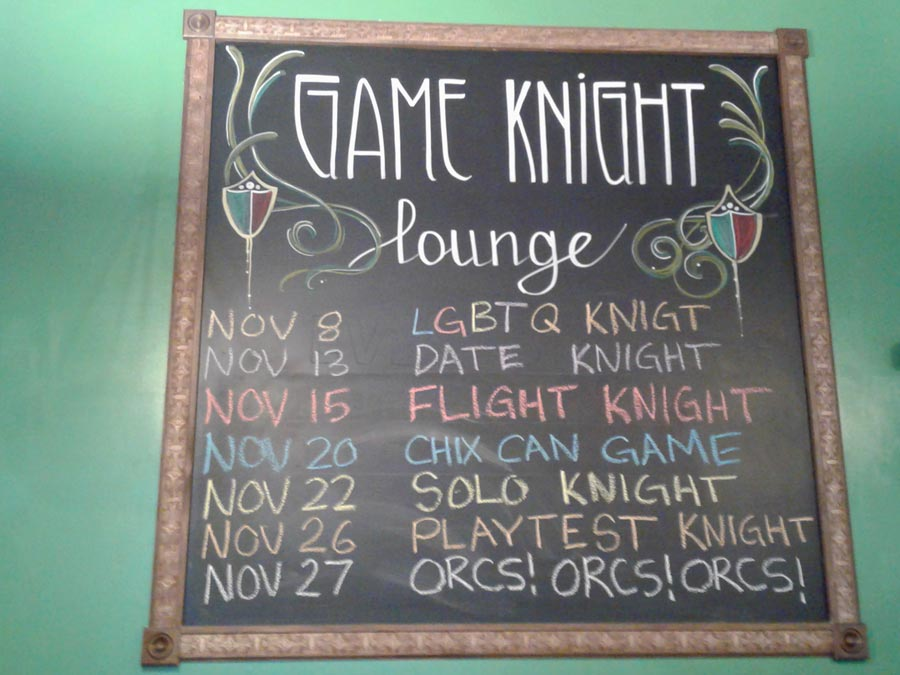 game knight lounge